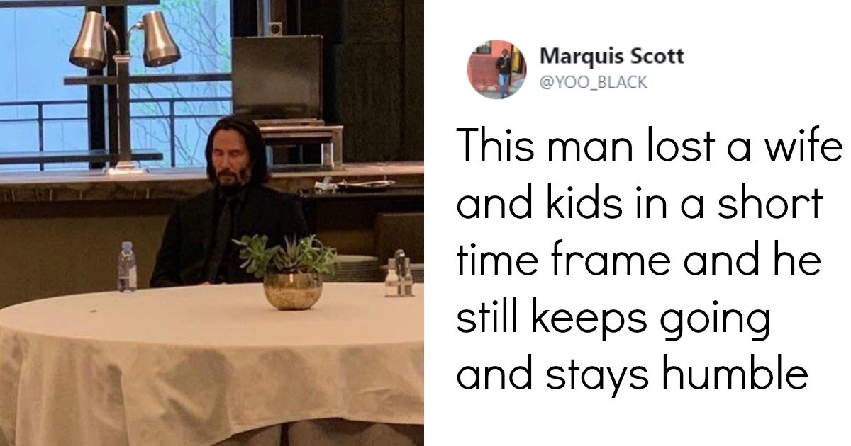 Keanu Reeves Says He's Lonely And We Just Can't Have That