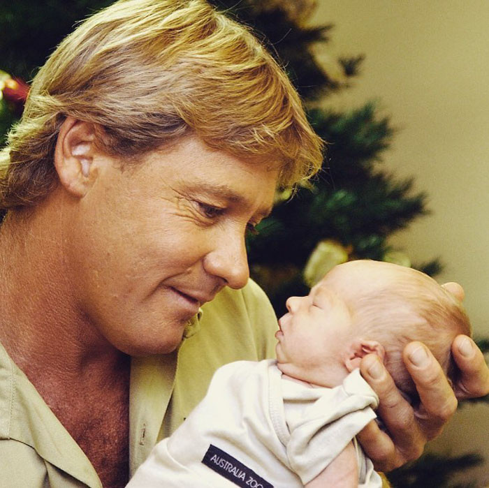 For those of you who aren't familliar, Steve Irwin died in 2006, after an accidental sting from a stingray