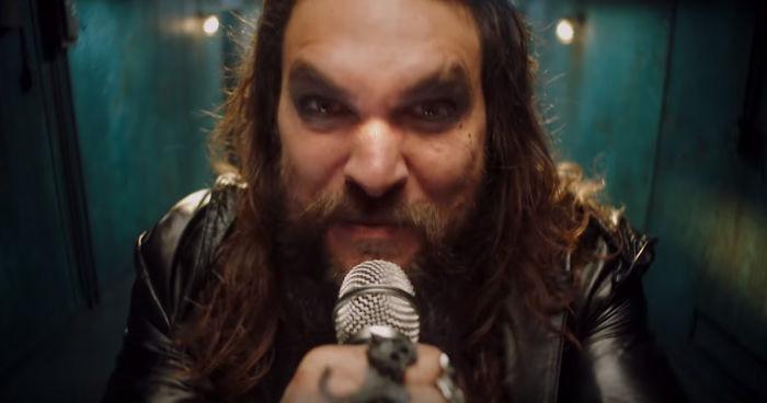 Jason Momoa is a real metalhead.