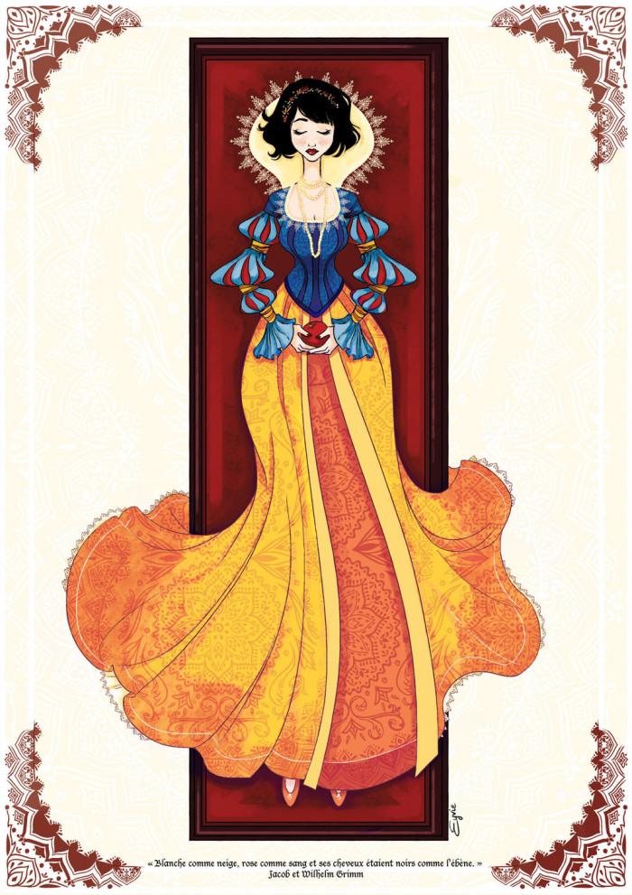 11. Snow White of Snow White and the Seven Dwarfs