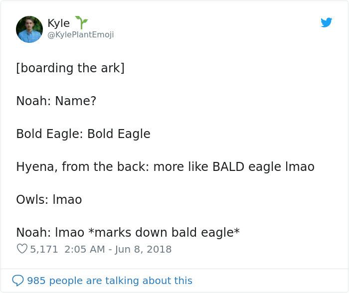 #18 The Bald Eagle