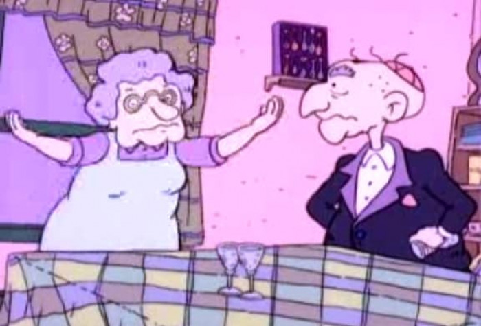 12. Tommy Pickles' Grandparents (Rugrats)