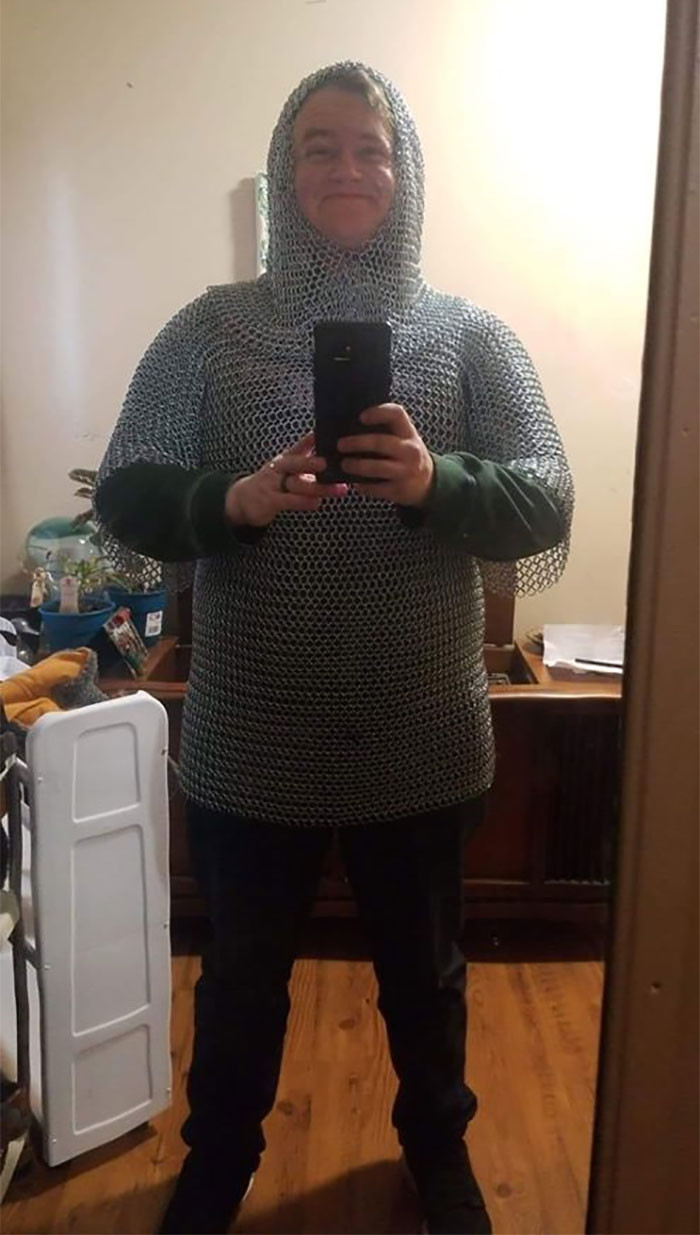 Larping costume if ever I saw one!