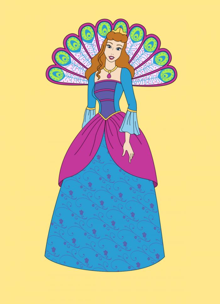 Cinderella as Rosella