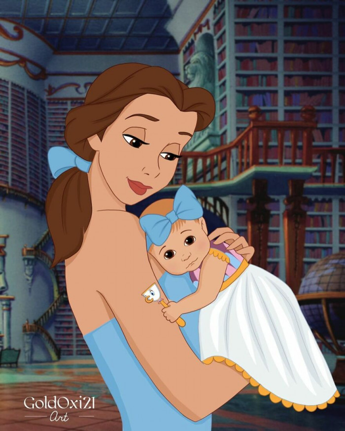 2. Belle / Beauty and the Beast