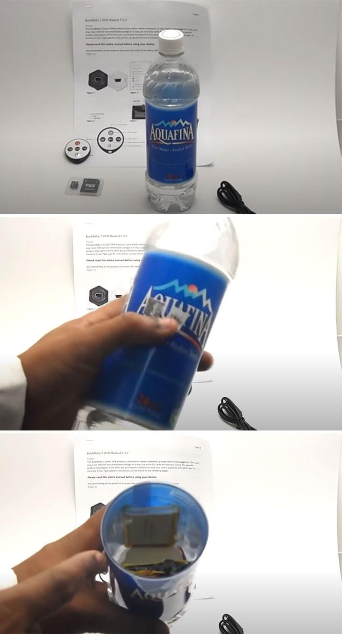 12. Water bottle