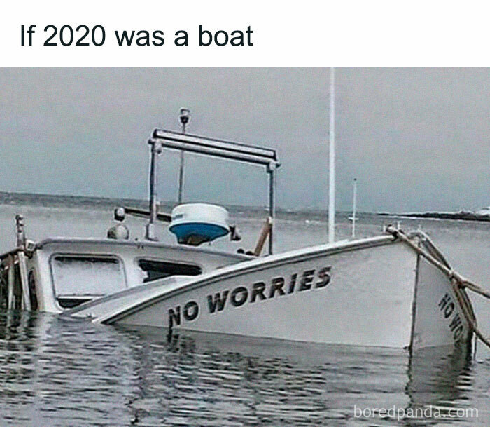 ... a boat