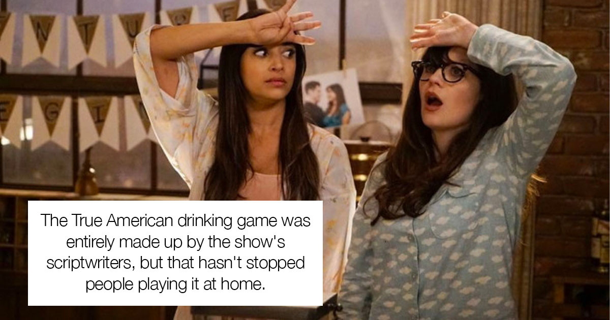 You Can Play The 'True American' Drinking Game From New Girl At Home, And Here's How