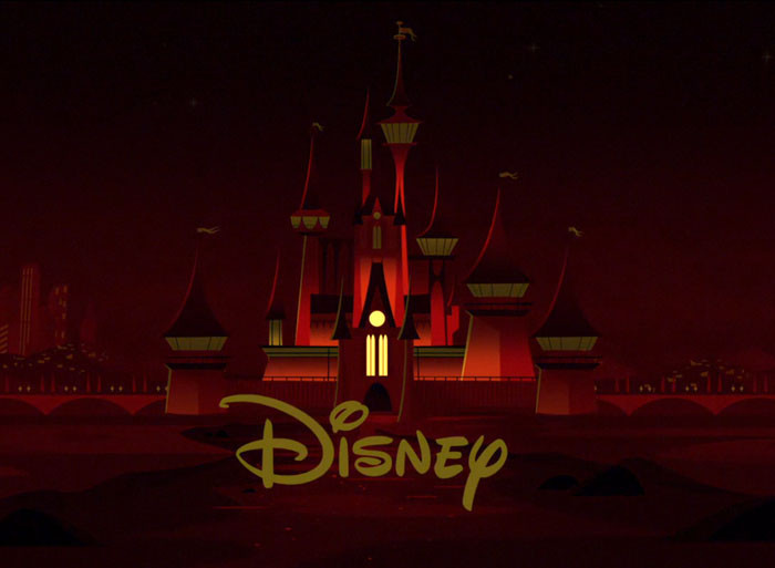 'During The Opening Titles, The Windows On The Disney Castle Light Up To Make The Incredibles Logo.'