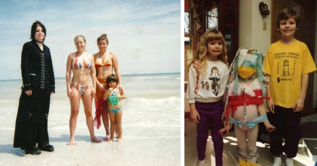 People Share Their Awkward Sibling Photos Online And Oh Boy Do They Bring Back Memories