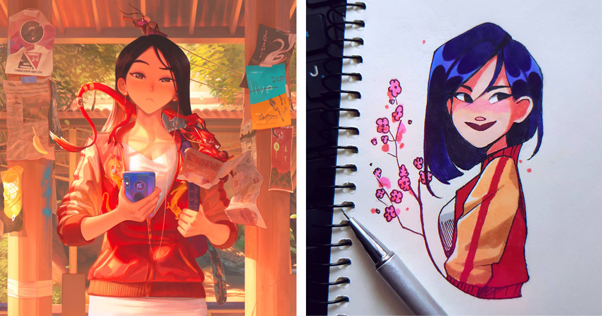 Celebrate The Live Action Mulan By Gushing Over This Incredible Mulan Fan Art