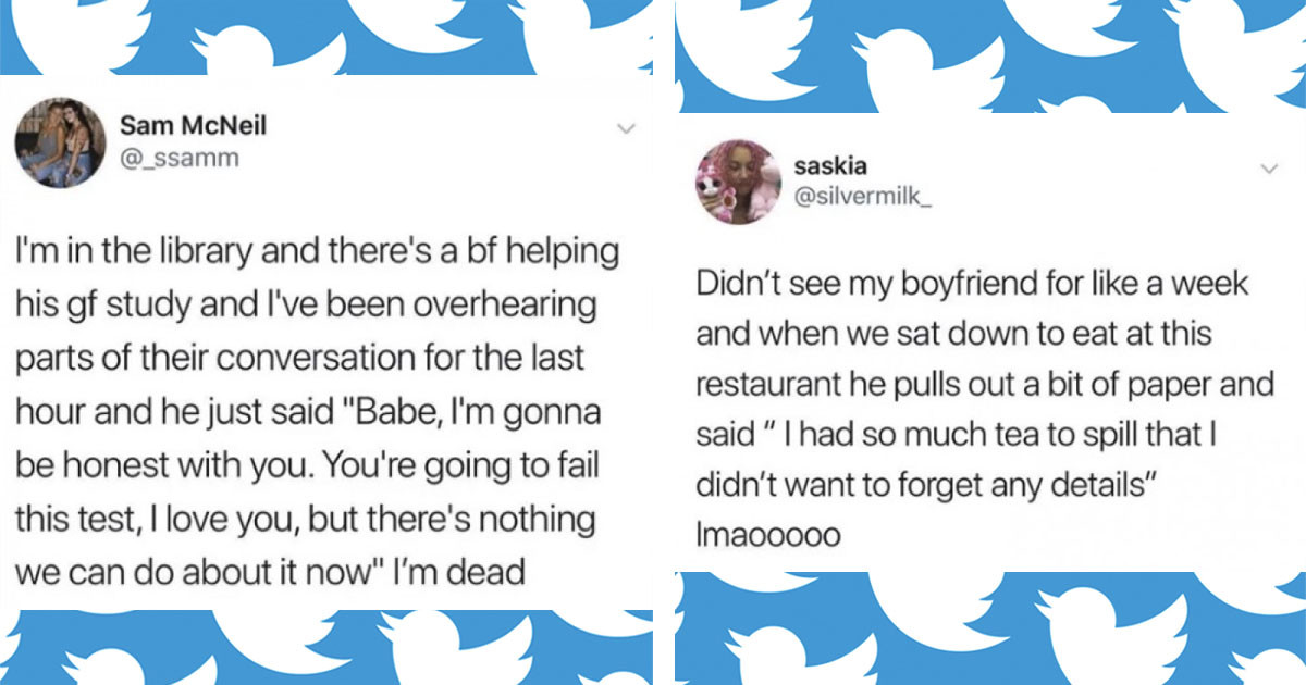 Adorable Acts of Love That People on Twitter Shared About Their Soulmates