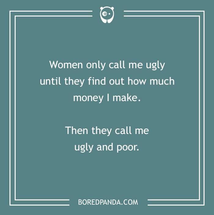 9. Sad but true.