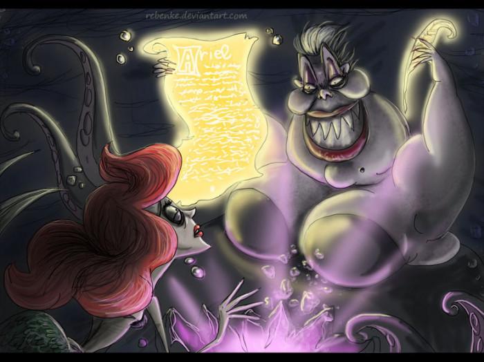 5. Ursula & Ariel / The Little Mermaid
