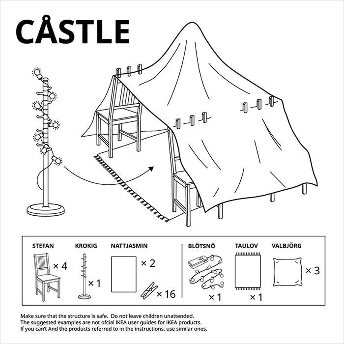 1. Behold, the Castle.
