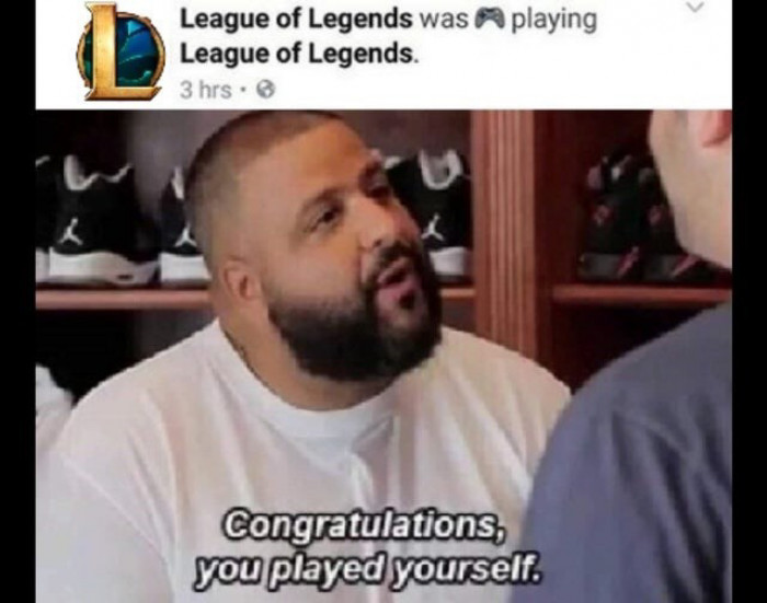 You played yourself!