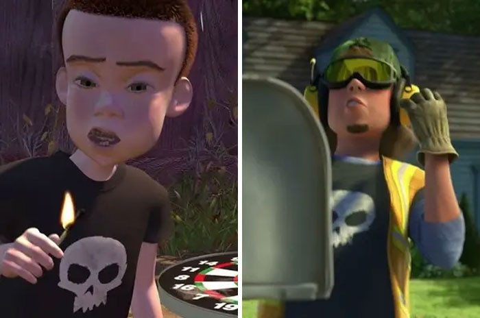 'Sid Makes An Appearance In Toy Story 3, Showing That He Got A Job As A Garbage Collector.'