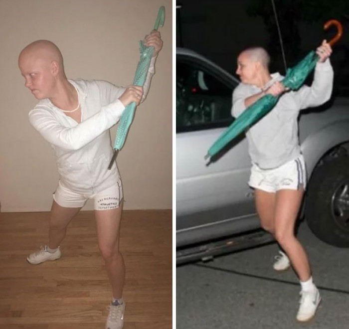 #48 My Friend Is Going Through Chemo And Decided To Use The Opportunity To Attempt To Win Halloween