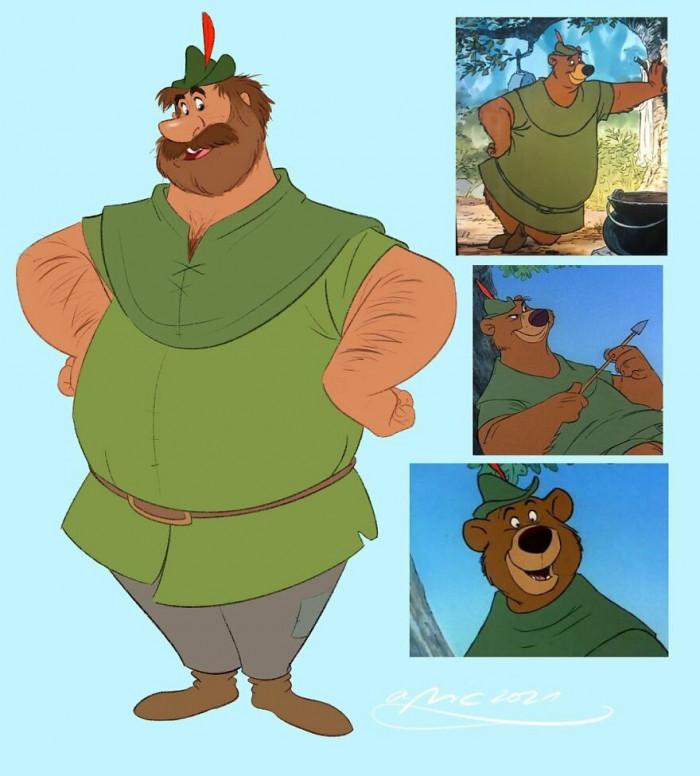 18. Little John, From Robin Hood