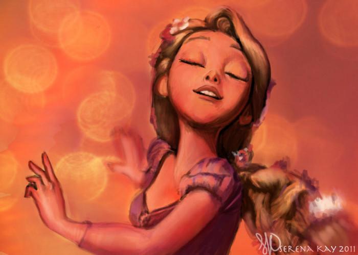 8. Rapunzel Dances