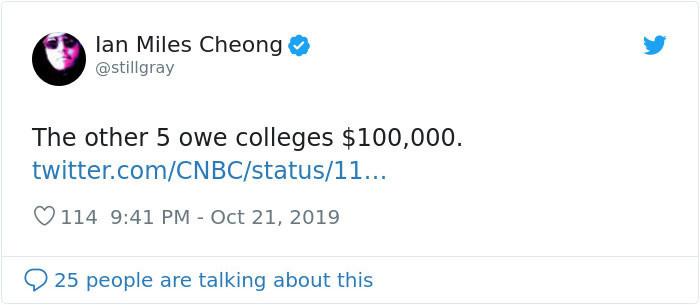 College debt is staggering for Millennials.