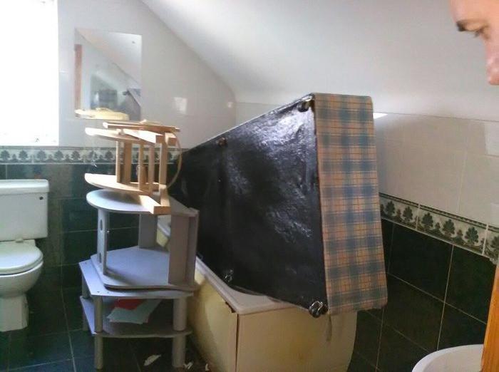 Storage or bath-space. YOU DECIDE!