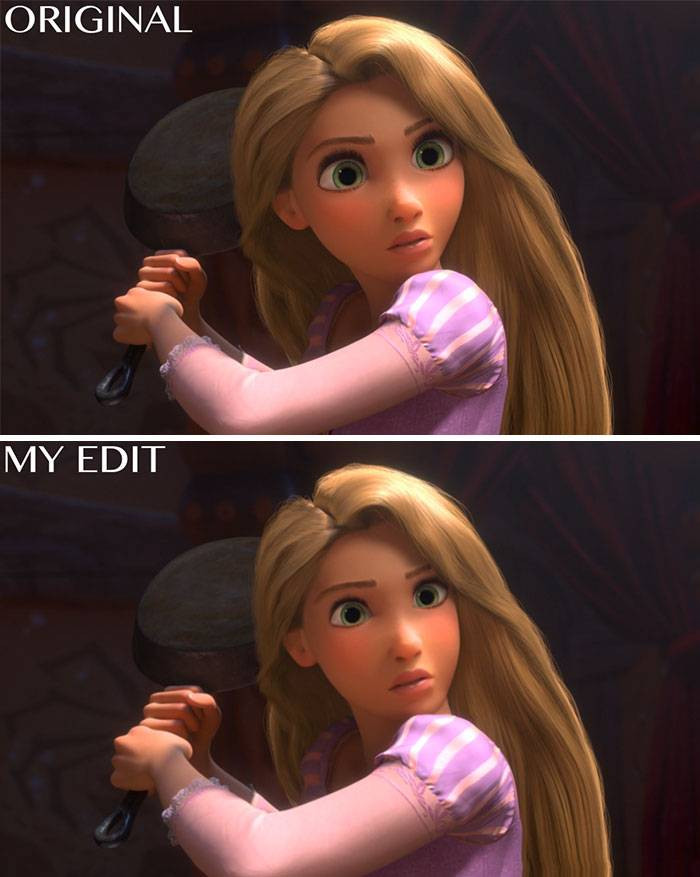 12. Rapunzel from Tangled