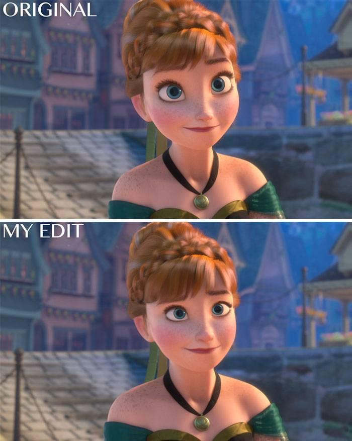 7. Anna from Frozen