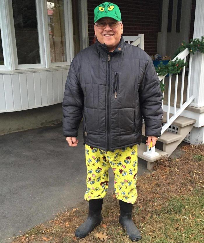14. I'm digging the Spongebob pants