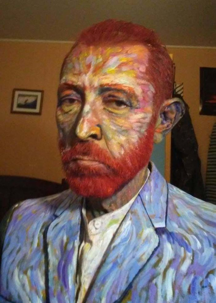 #10 My High School Art Teacher's Amazing Van Gogh Costume