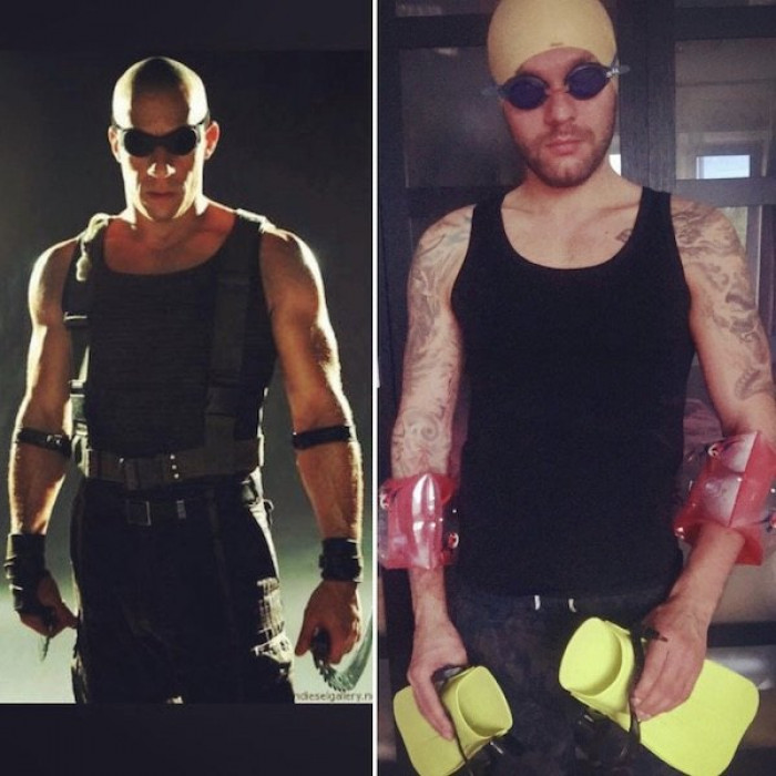 45. Riddick from The Chronicles of Riddick
