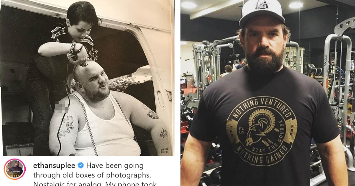 Actor Ethan Suplee Has The Ultimate Glow Up In This Weight Loss Transformation
