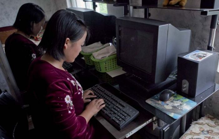 North Korean officials love when you take photos displaying that the citizens own computers. However, they hate it once you realize that these citizens don't even have electricity to make the computers work.