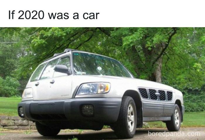 ... a car