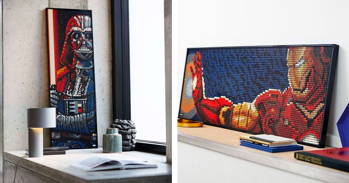 LEGO Launches Buildable Posters And They Each Come With Their Own Exclusive Soundtrack