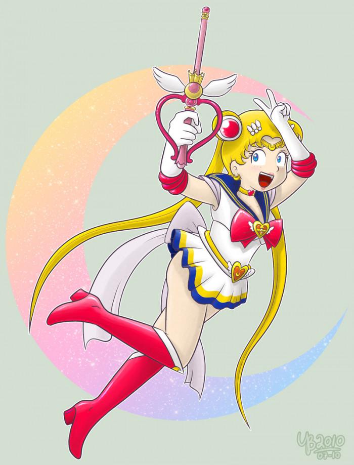 2. Sailor Moon