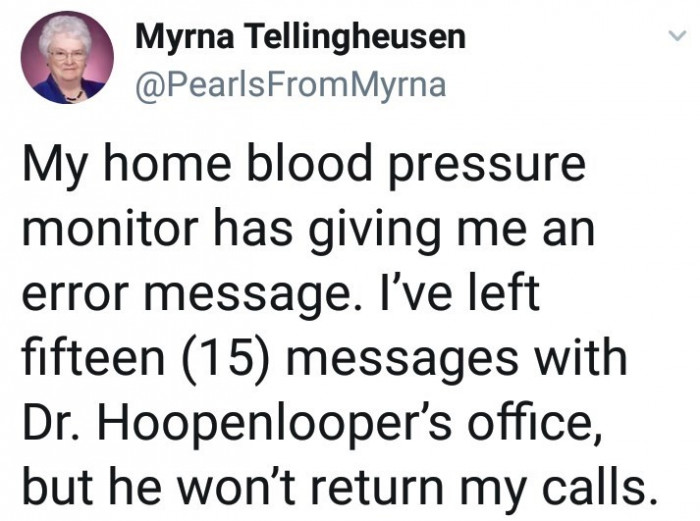 Dr. Hoopenlooper's busy