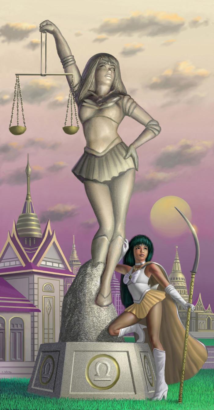9. Sailor Libra
