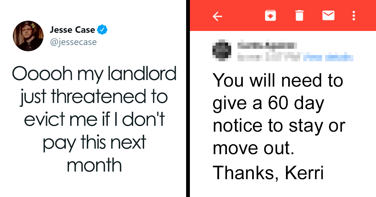 Insensitive Landlord Notifies The Tenant She Will Throw Him Out If He Doesn't Pay The Increased Rent But He Shuts Her Down