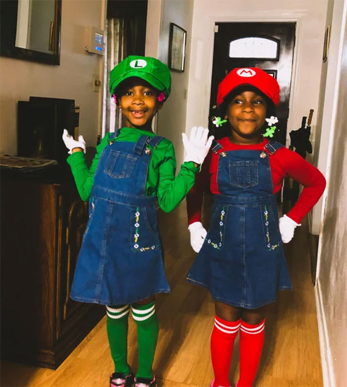#34 My Daughters As Maria And Luigia