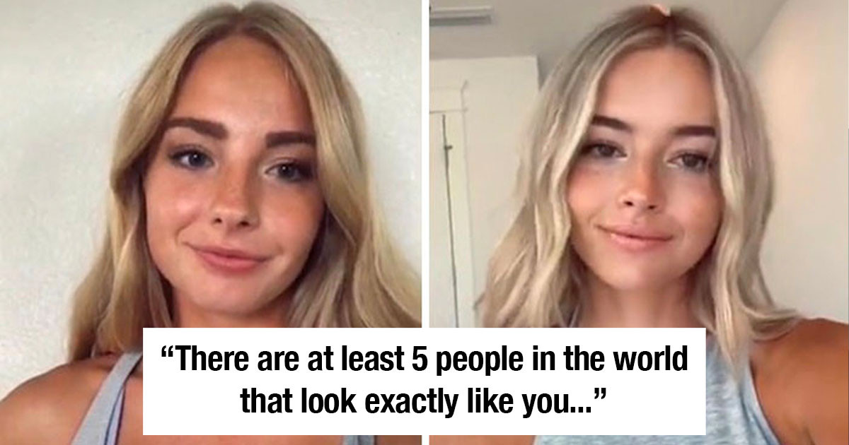 TikTok 'Doppelgänger Challenge' Uncovers Long Lost Twins All Over The World.