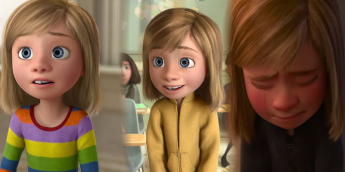 'In Inside Out (2015), Riley's Clothes Become More Muted As She Becomes More Depressed Throughout The Movie.'