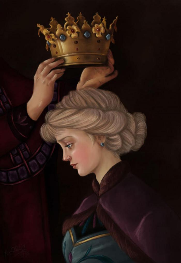34. Coronation of Queen Elsa Of Arendelle