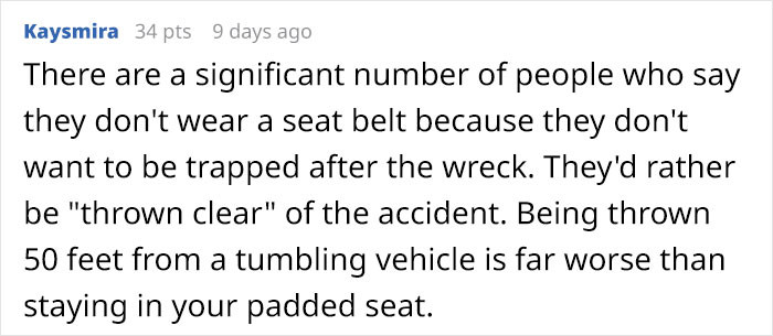 Facts of car seats