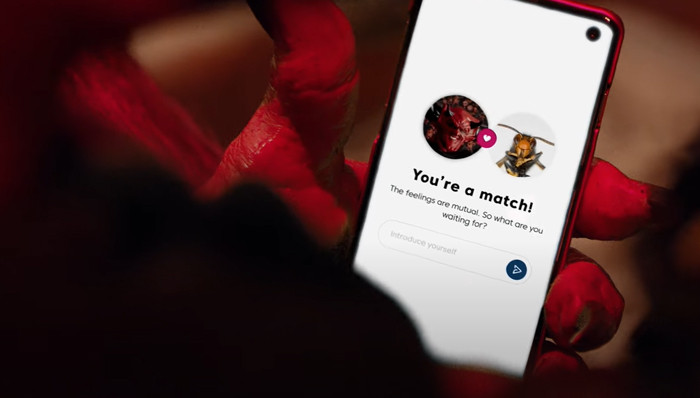 Of course, the pair stumbled upon one another using the Match dating app.