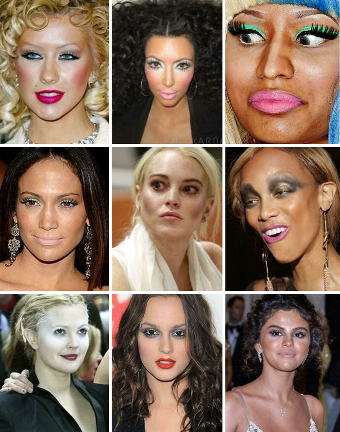 10. Remember: Even Celebs Ain't Safe From Bad MUAs