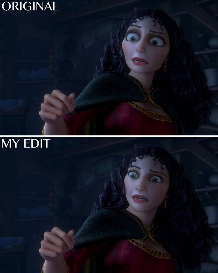 10. Mother Gothel from Tangled