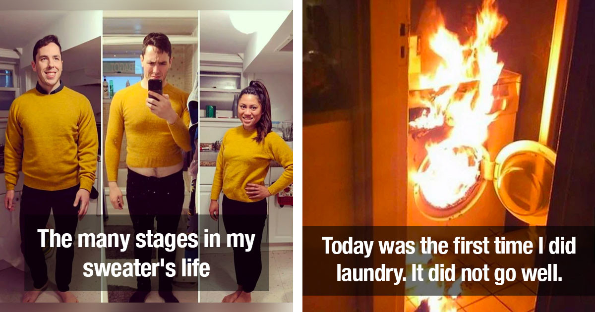 People Who Failed At Doing Their Laundry So Bad They Ended Up With Disastrous Results