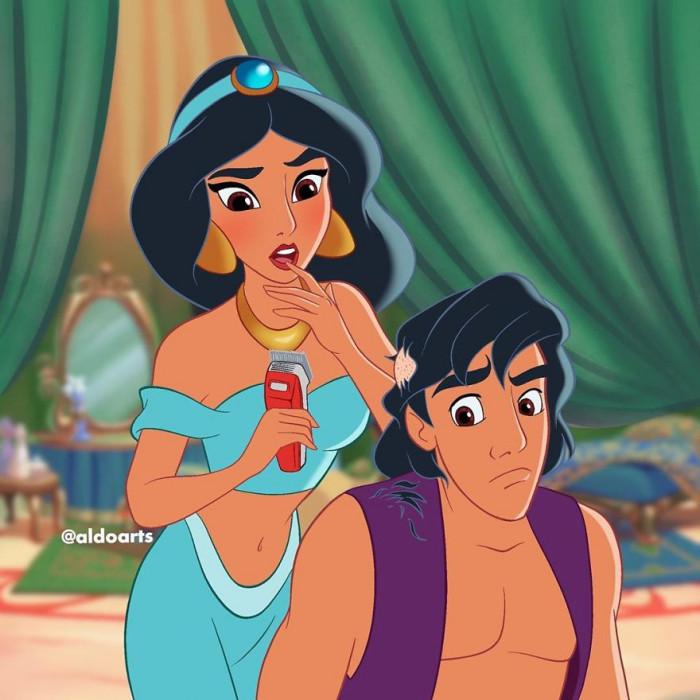 7. Welcome to the club Aladdin
