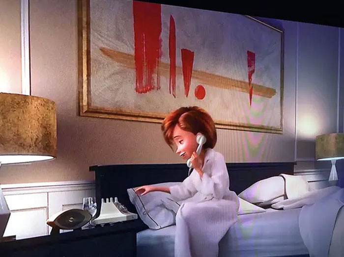 'In The Incredibles 2, The Painting In Helen's Hotel Room Is An Illustration Of Her Seperation From The Family.'